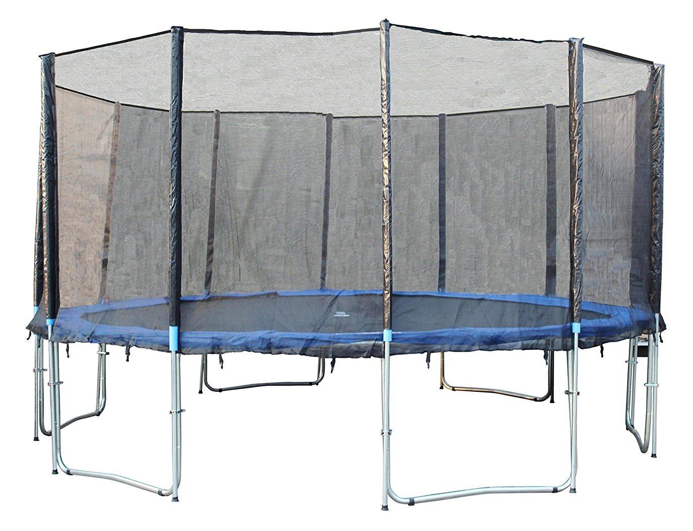 Exacme TUV Approved Trampoline with Safety Pad & Enclosure