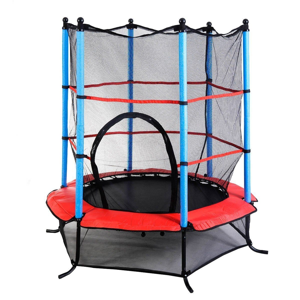 giantex-exercise-55-inch-round-kids-jumping-trampoline
