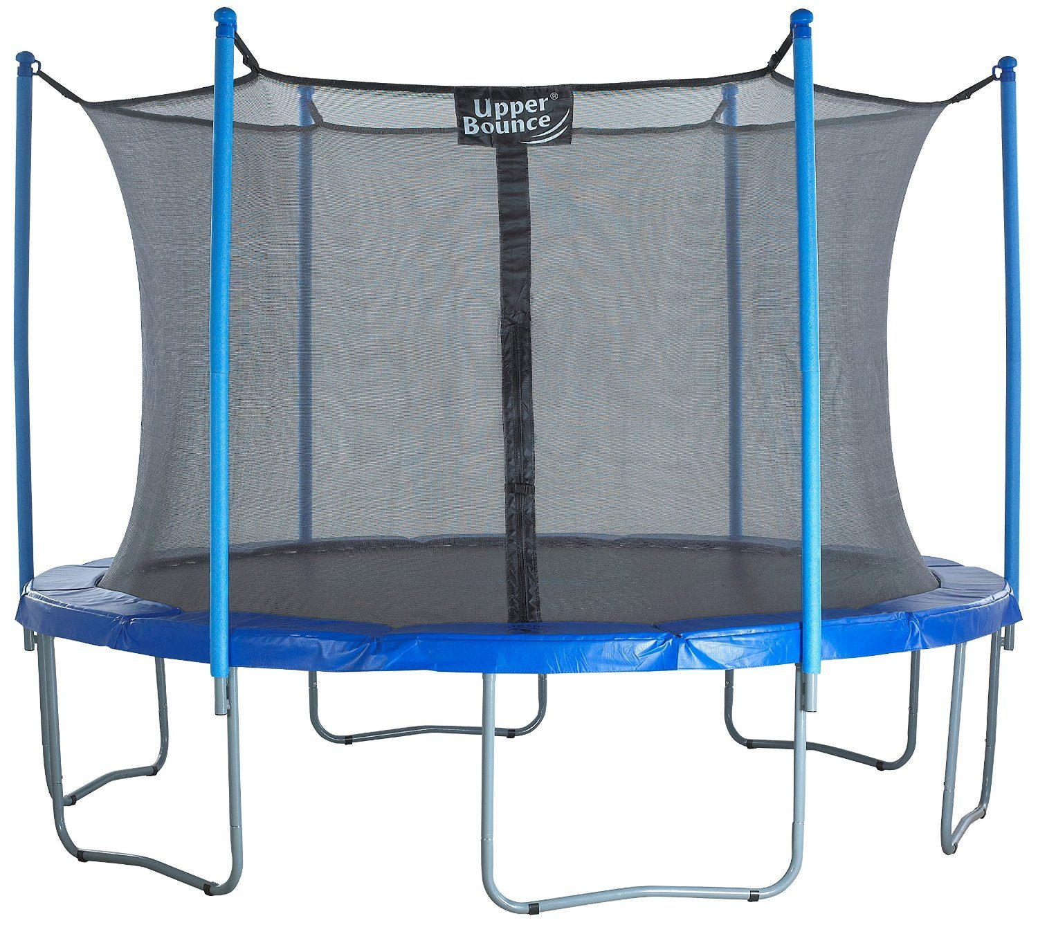 Upper Bounce 14 Foot Trampoline and Enclosure Set