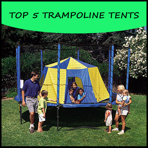 & Trampoline Tents - Transform Your Trampoline Today