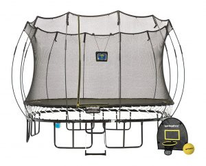 11ft Large Square Smart Trampoline