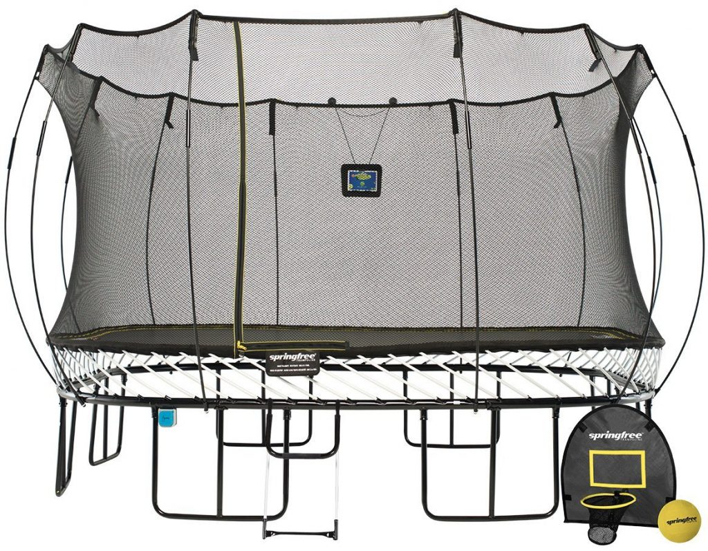 13ft Jumbo Square Smart Trampoline