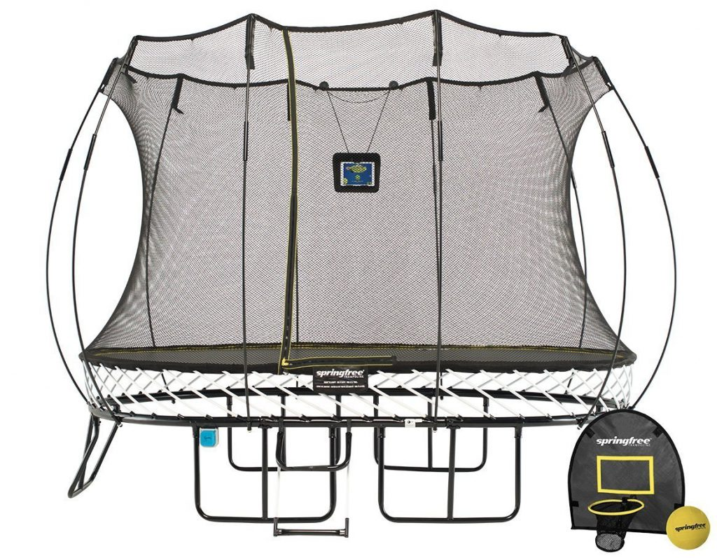 8x11ft Medium Oval Smart Trampoline
