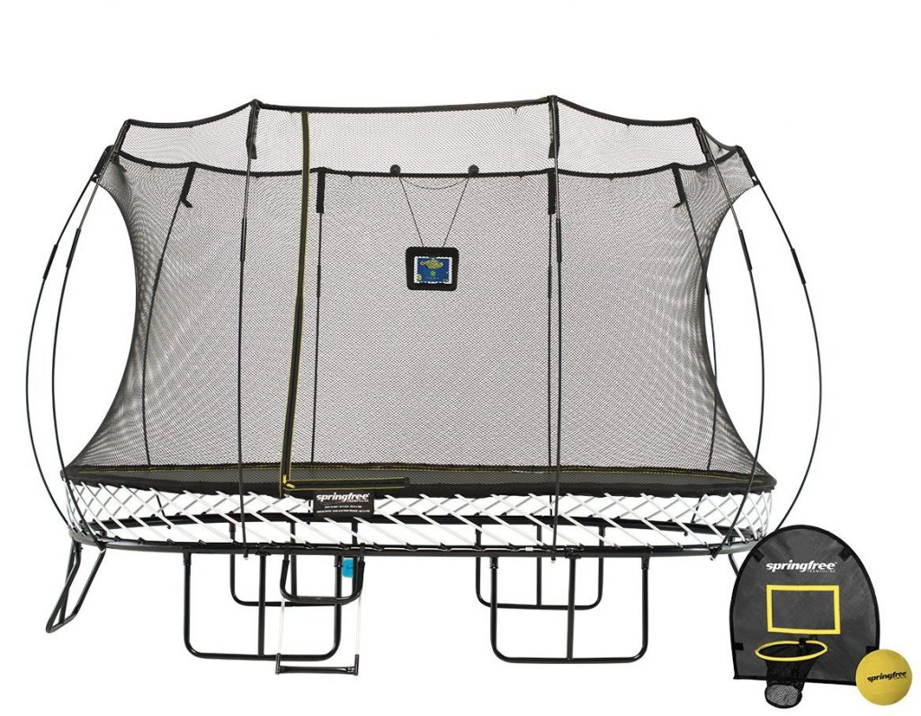 8x13ft Large Oval Smart Trampoline
