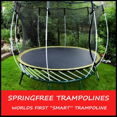 Springfree Trampoline - Springfree Trampoline - The Safest And Most Advanced Trampoline Ever