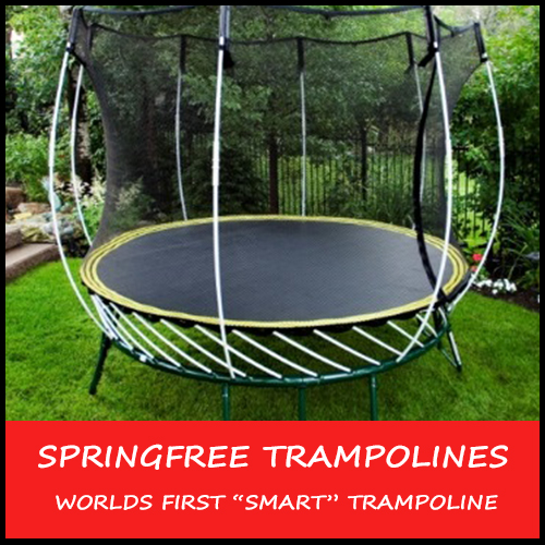 Springfree trampoline the safest and most advanced for Springfree trampoline